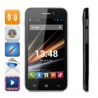 "LKD F23 Android 4.2.2 Dual-core WCDMA Bar Phone w/ 4.0"" Screen, Wi-Fi and GPS - White + Green"