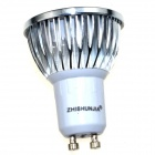 ZHISHUNJIA GU10 3W 180lm COB LED Cool White Light Bulb (AC 85~265V)