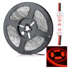 HML N56 Waterproof 72W 5000lm 655nm 300-SMD 5630 LED Red Light Strip - Translucent (DC 12V / 5m)