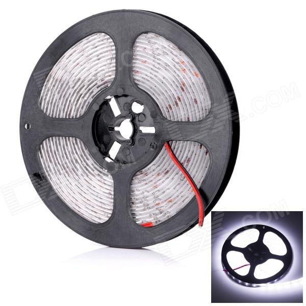 HML Waterproof 30W 3600lm 6500K 300 x SMD 3014 LED White Light Strip (12V / 5M)