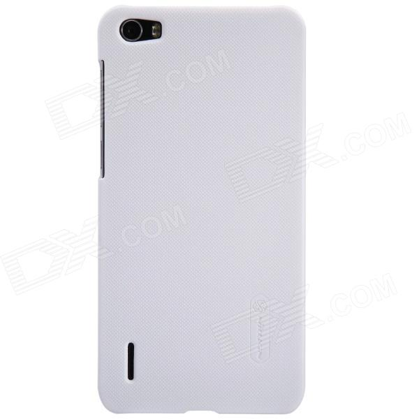NILLKIN Protective Matte PC Back Case for Huawei Honor 6 - White nillkin protective matte plastic back case w screen protector for iphone 6 4 7 brown