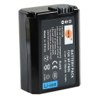 DSTE NP-FW50 Battery + Charger for Sony NEX3C Camera + More - Black