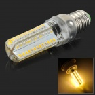E14 5W 400lm 104-SMD 3014 LED Warm White Light Lamp (AC 220V)