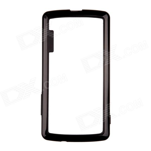 Protective TPU + PC Bumper Frame for LG Nexus 5 - Black