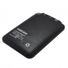 """5000mAh"" Li-polymer batteri dobbel USB makt Bank med lommelykt for IPHONE / IPAD / Samsung"