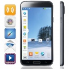 "KICCY W900 Quad-Core Android 4.2 WCDMA Bar Phone w/ 5"" IPS, Wi-Fi, GPS, ROM 4GB - Black"