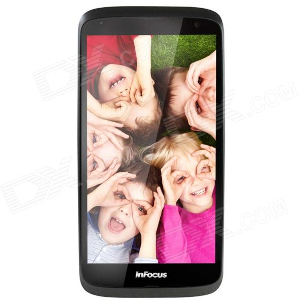 InFocus IN260 Android 4.2 Dual -core WCDMA Bar Phone w/ 5.0 Screen, GPS, Wi-Fi - White p8 5 0 screen android 4 2 2 dual core wcdma gsm 3g smart phone w dual sim wi fi black