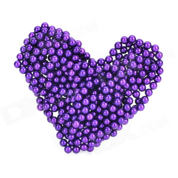 DIY Magic Training Magnetic NdFeB Beads / Balls - Purple (432 PCS)