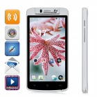 "LKD F1 Mini Android 4.2.2 Quad-core WCDMA Bar Phone w/ 5.0"" Screen, Wi-Fi and GPS - White"