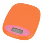 "WEIHENG WH-B12 1.6"" Display Kitchen Baking / Cooking Scale - Orange (1 x CR2032)"