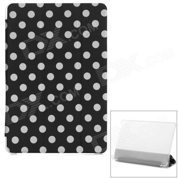 Polka Dot Flip-Open PU Leather Case w/ Auto Sleep / Stand for Xiaomi MIUI Mi Pad - Black + White gsou snow brand ski pants women waterproof high quality multi colors snowboard pants outdoor skiing and snowboarding trousers