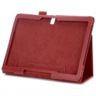 Stylish Flip Open Case w/ Stand for 10.5'' Samsung Galaxy Tab S T800 / 801 / 805 - Red