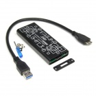CY U3-159 USB 3.0 to M.2 NGFF PCI-E 2 LANE 30mm 42mm 60mm 80mm SSD Enclosure for E431 E531 X240