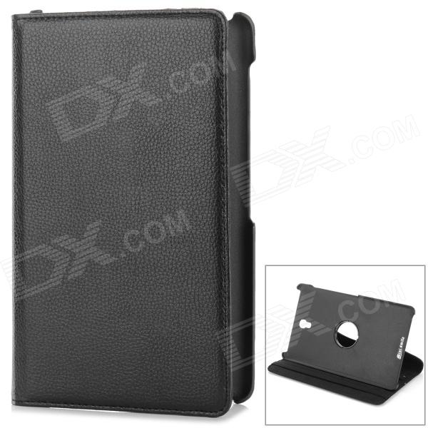 360 Rotary Flip Open PU Leather Case w/ Stand for 8.4 Samsung Galaxy Tab S T700 / T705C - BlackTablet Cases<br>Form  ColorBlackBrandN/AModelN/AQuantity1 DX.PCM.Model.AttributeModel.UnitShade Of ColorBlackMaterialPUCompatible BrandSamsungCompatible SizeOthers,8.4 inchStyleBusinessCompatible ModelSamsung Galaxy Tab S 8.4 T700/T705CTypeLeather CasesPacking List1 x Case<br>