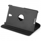 360' Rotary Flip Open PU Leather Case w/ Stand for 8.4'' Samsung Galaxy Tab S T700 / T705C - Black