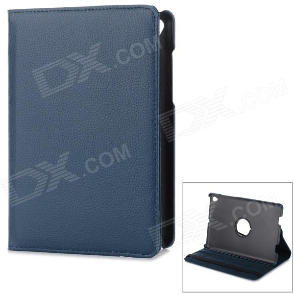 36' Degree Rotary Protective Flip Open PU Case w/ Stand for 7.85'' Mi Pad Xiaomi - Deep blue bosch для amw 10 0 600 8a3 a00
