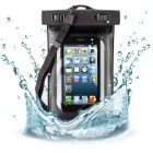 Universal Waterproof Underwater Pouch for IPHONE - Black