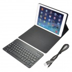 Angibabe 360 Degree Rotatable Bluetooth Keyboard Leather Case for IPAD Air - Black