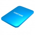 5000mAh Li-polymer Battery Dual USB Power Bank w/ Flashlight for IPHONE / IPAD / Samsung - Blue