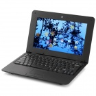 "10.1"" TFT Dual-Core Android 4.2 Netbook w/ 1GB RAM, 8GB ROM, Wi-Fi, Camera, SD - Black"