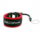 NEOpine Wrist Strap Floaty Foam Dive Strap for Gopro Hero 3+ / 3 / 2+ Camera - Red + Black