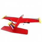 4-CH Remote Control EPP R/C Airplane Glider - Red (6 x AA)