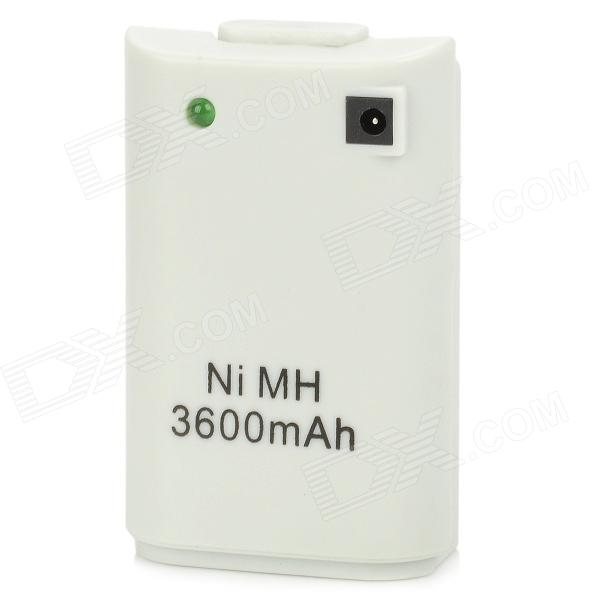 3600mAh Direct Charge USB Battery Pack for XBox 360