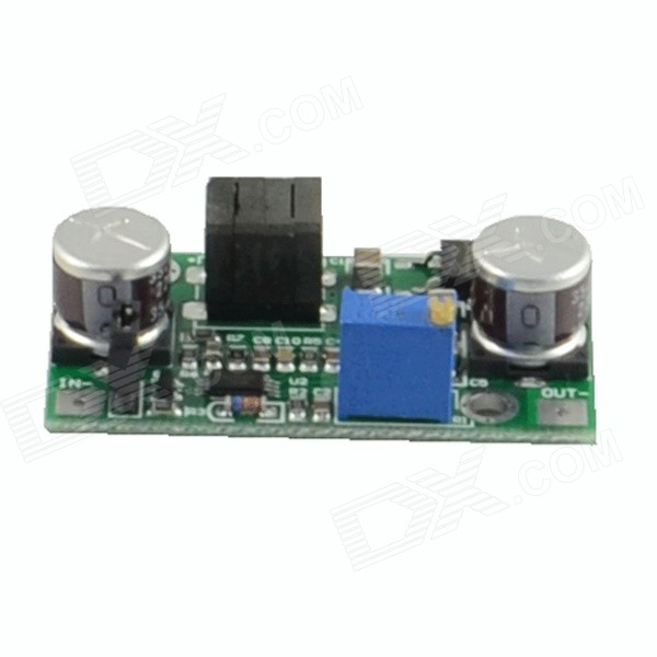 HF-DC-DC FP5139 Adjustable Regulated Power Supply Module - Green (DC 5~12V) japan cosel turn positive and negative supply module zuw101215 12v 15v 30v output 10w is also available when