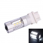 3157 / 3156 80W 16-SMD LED 600LM 6500K White Light Steering Brake Light for Car (DC12~24V)
