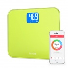 "CPTCAM 3.2 ""LCD Bluetooth 4.0 Smart Electronic Lemon Community Health Scale - Green (3 x AAA)"