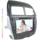 "LsqSTAR 8"" Android4.1 Capacitive Screen Car DVD Player w/ GPS WiFi SWC Canbus AUX for Mitsubishi ASX"