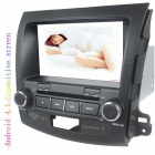"LsqSTAR 8"" Android4.1 Capacitive Screen Car DVD Player w/ GPS WiFi Canbus for Mitsubishi Outlander"