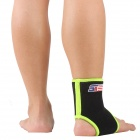 ShuoXin SX860-B Sports Basketball Elastic Ankle Foot Brace Support Wrap - Green + Black