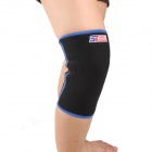 ShuoXin SX861-B Classical Breathable Sport Knee Guard Protector - Blue + Black