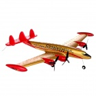STAR-9001 EPP Foam R/C Airplane Glider - Gold + Red