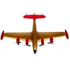 STAR-9001 de mousse de PPE R / C Avion Planeur - or + rouge