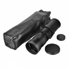 67mm 420~800mm Telephoto Zoom Lens for SLR Cameras - Black