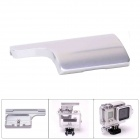 Aluminum Alloy Back Door Clip Safety Lock for GoPro Hero 3+ Dive Skeleton Housing - Silver