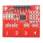 KEYES-TTP224 4-CH Digital Capacitive Touch Control Sensor Module - Red