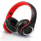 OYK OK-8808 3.5mm Wired Stereo Headband Headphone w/ Microphone - Red + Black