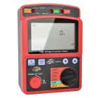 BENETECH GM3123 Digital High Voltage Insulation Resistance Tester Set - Red + Black (8 x LR14)
