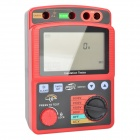 BENETECH GM3125 Digital High Voltage Insulation Resistance Tester Set - Red + Black (8 x LR14)