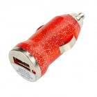 Car Cigarette Lighter Charger + Data Charging Cable for Samsung Galaxy S3 / S4 / Note 2 - Red