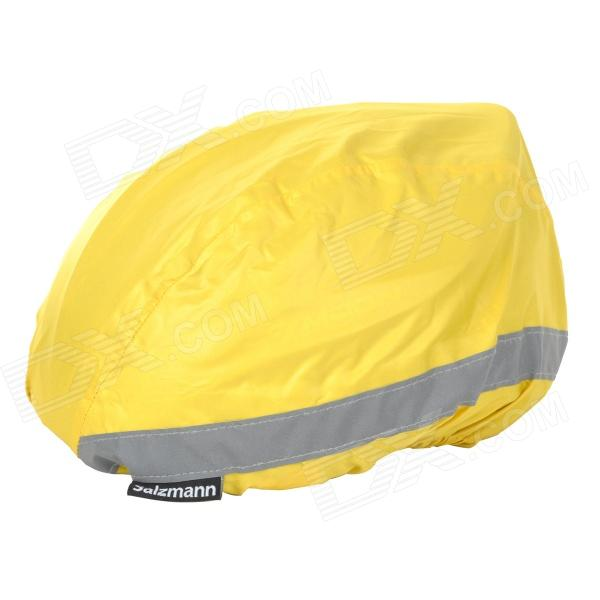 Salzmann 50012 Night Cycling Riding Waterproof Reflective Bike Safety Helmet Cover - Yellow