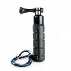 TMC G-546 Handheld ABS + Rubber Stabilizer Grip w/ Screw + Strap for Gopro Hero 3+ / 3 / 2 - Black
