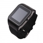 "HI Watch L19 Wearable 1.5"" Touch Screen GSM Watch Phone w/ Bluetooth & Pedometer - Black"