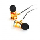AWEI TS-150vi In-ear Earphone w/ Mic / Remote Control - Golden + Black