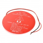 DIY Round Shaped PCB Heated Heat Bed Hot Plate for Delta Rostock 3D Printer - Red