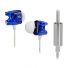 TTPOD T1-Enhanced High Quality 3.5mm Hi-Fi In-Ear Earphone - Blue + Silver + White