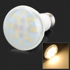 MSLED E27 9W 600lm 3500K 18-SMD 5730 LED Warm White Par Light - White (AC 85~265V)